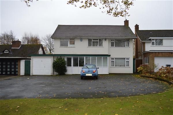 Thumbnail Detached house for sale in Oakley Wood Drive, Solihull, Solihull