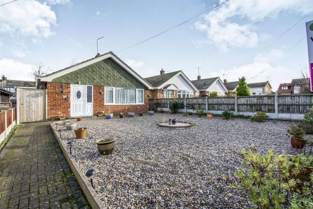 Thumbnail Detached bungalow for sale in St Annes Way, Belton, Great Yarmouth