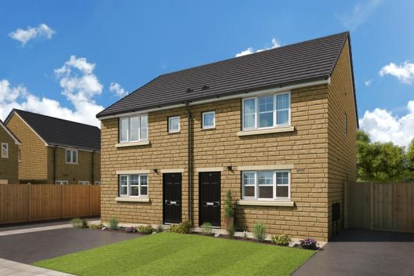 "Thumbnail Property for sale in ""The Laskill At Highgrove Place"" at Accrington Road, Burnley"