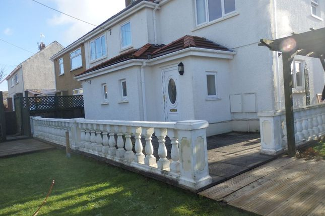 Thumbnail Semi-detached house to rent in Pencoed Road, Burry Port