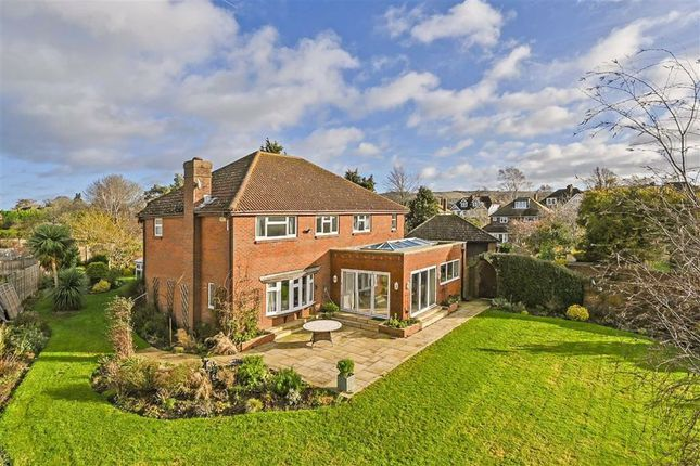 Thumbnail Detached house for sale in Chequers Park, Wye, Ashford