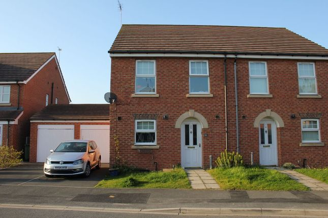 Thumbnail Semi-detached house to rent in Inglefield, Hartlepool