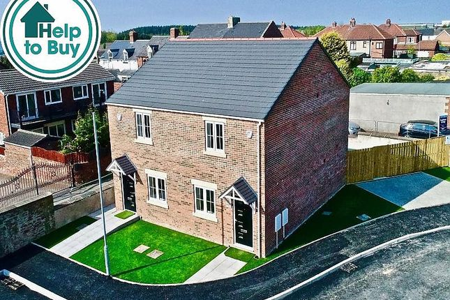 Thumbnail Semi-detached house for sale in Edward Street, Hobson, Newcastle Upon Tyne