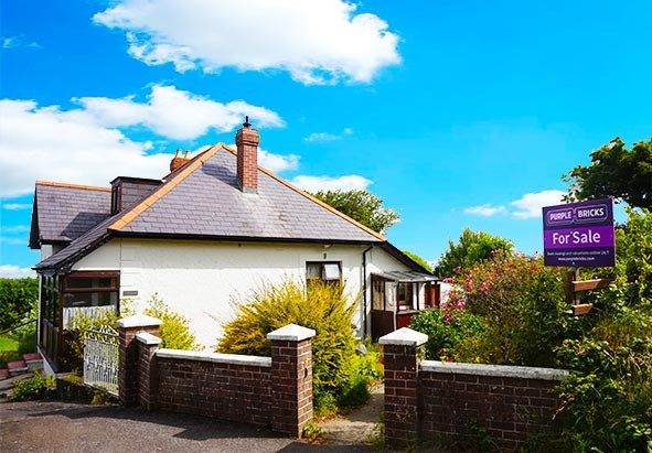 Thumbnail Detached bungalow for sale in Tresaith Road, Cardigan