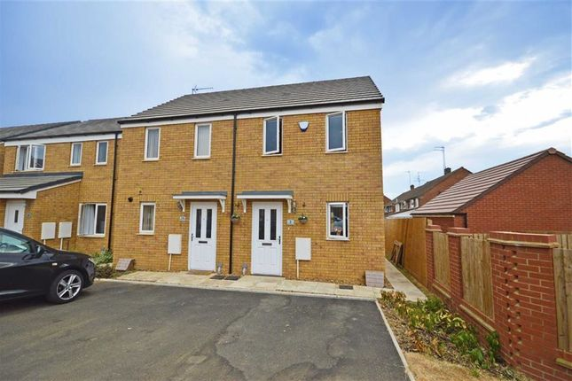 Thumbnail Semi-detached house for sale in Crawley Close, Northampton