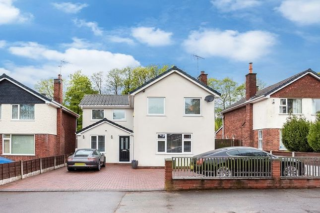 Thumbnail Detached house for sale in Longdown Road, Congleton