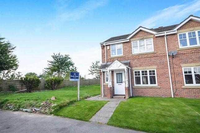 Thumbnail Semi-detached house to rent in Paddock Hill, Malton