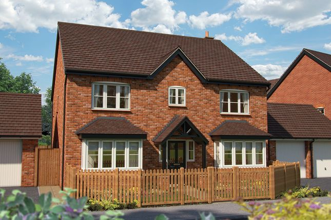 "Thumbnail Detached house for sale in ""The Meriden"" at Mandale Close, Bishops Itchington, Southam"