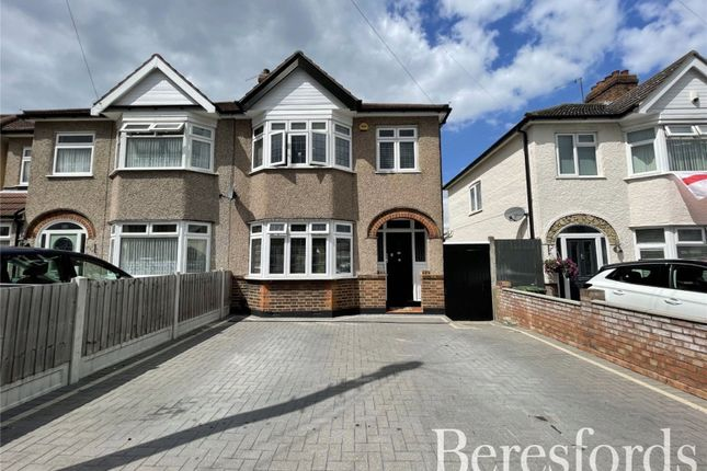 Thumbnail Semi-detached house for sale in Cheviot Road, Hornchurch