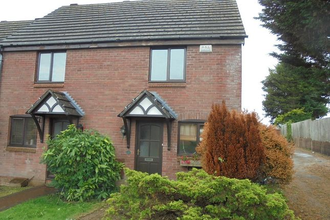 Thumbnail End terrace house to rent in 26 Caer Newydd, Brackla, Bridgend, Mid. Glamorgan.
