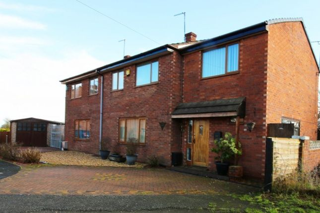 4 bed semi-detached house for sale in Woodlands Court, Mancot