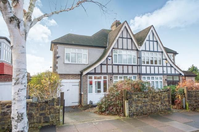 Thumbnail Semi-detached house for sale in Cecil Road, Southgate, London, .