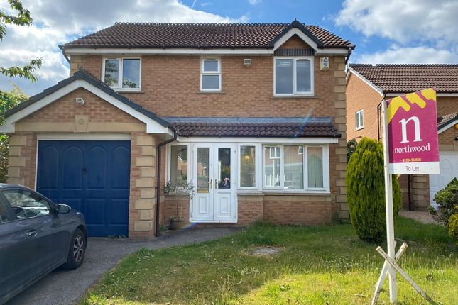 Thumbnail Detached house to rent in Keystone Close, Salford