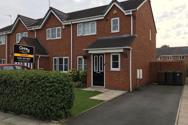 Thumbnail Semi-detached house for sale in Beach Road, Litherland