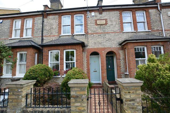 Thumbnail Terraced house for sale in Bushy Park Road, Teddington