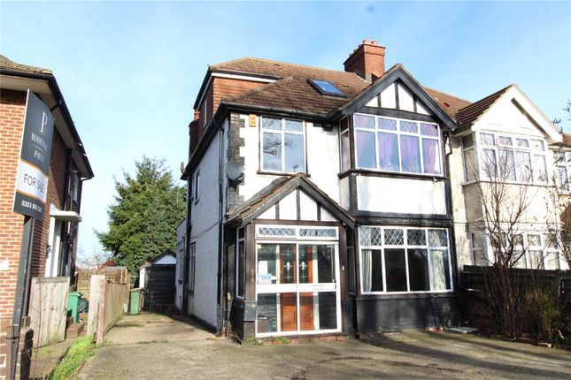 Thumbnail Semi-detached house for sale in Stafford Road, Wallington