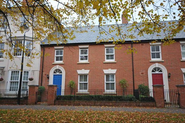 Thumbnail End terrace house to rent in Masterson Street, Exeter