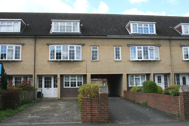 Thumbnail Town house for sale in Park Road, Cheam Village