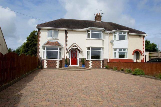 Thumbnail Semi-detached house for sale in Tirmynydd Road, Three Crosses, Swansea