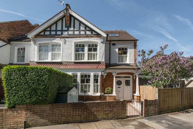 Thumbnail End terrace house for sale in Langham Road, London
