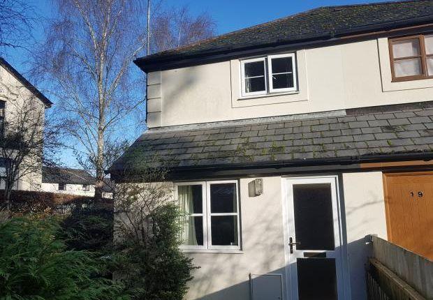 Thumbnail End terrace house for sale in Bossell Park, Buckfastleigh, Devon