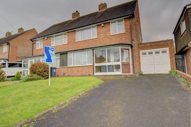 Thumbnail Semi-detached house for sale in Heath Road South, Northfield, Birmingham