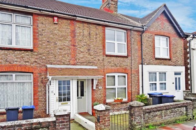 Thumbnail Terraced house for sale in Penfold Road, Broadwater, Worthing