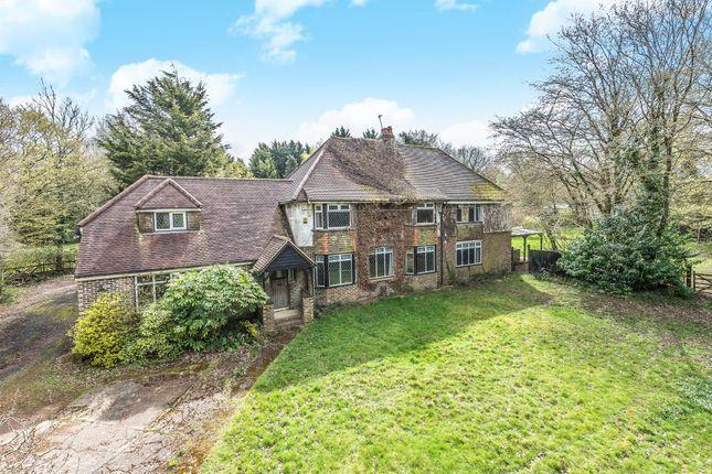 Thumbnail Farmhouse for sale in Hempstead Lane, Hailsham, East Sussex