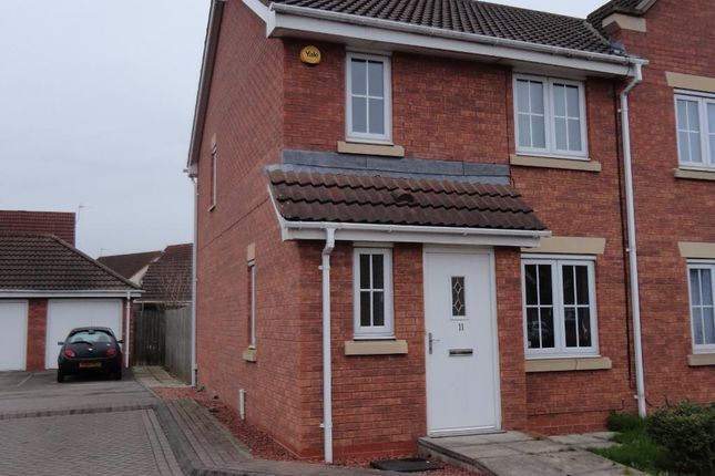 Thumbnail Town house to rent in Rivelin Park, Kingswood, Hull