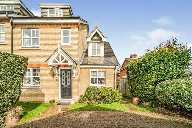 Thumbnail Semi-detached house for sale in Cob Lane Close, Digswell, Welwyn