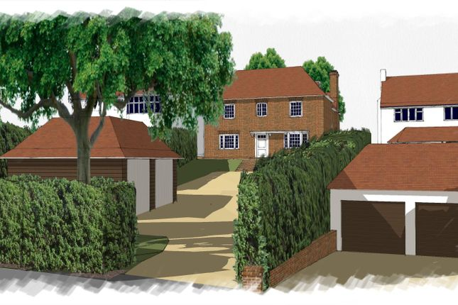 Thumbnail Land for sale in Aldenham Avenue, Radlett
