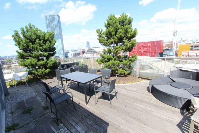 Thumbnail Flat to rent in Lumiere Apartments, City Road East, Manchester