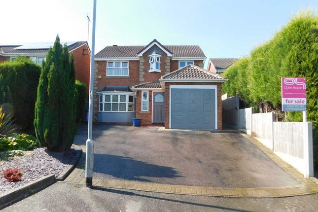 Thumbnail Detached house for sale in Rydal, Wilnecote, Tamworth