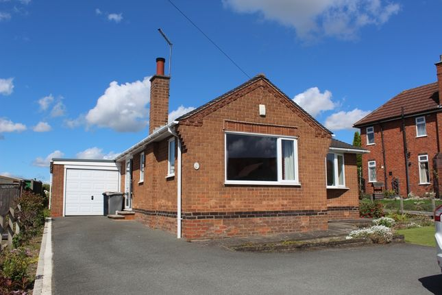 Thumbnail Detached bungalow for sale in Moorgreen, Newthorpe