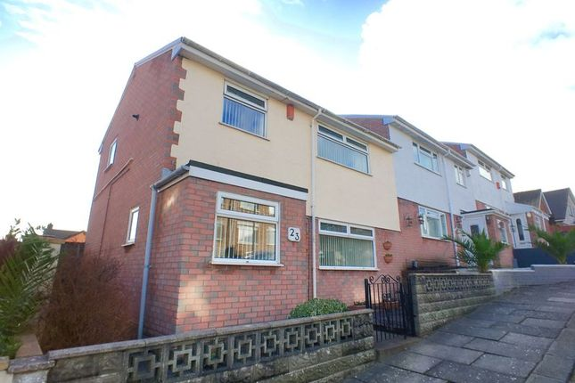 Thumbnail Semi-detached house for sale in Guys Road, Barry