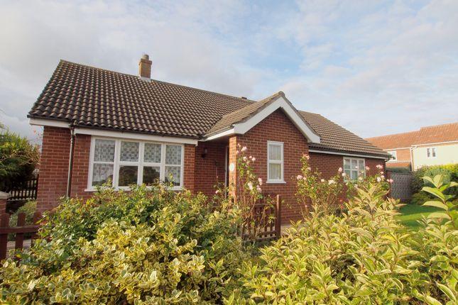 Thumbnail Detached bungalow to rent in Bellrope Lane, Wymondham