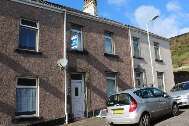 Thumbnail Terraced house to rent in Grafog Street, Swansea