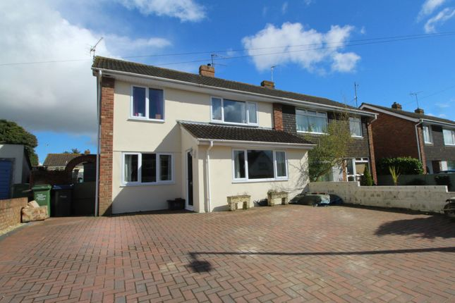 Thumbnail Semi-detached house for sale in Hungerford Road, Calne, Wiltshire