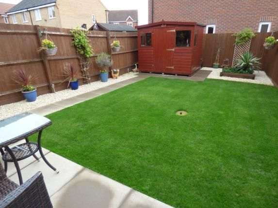 Garden of Howgate Close, Sileby, Loughborough, Leicestershire LE12