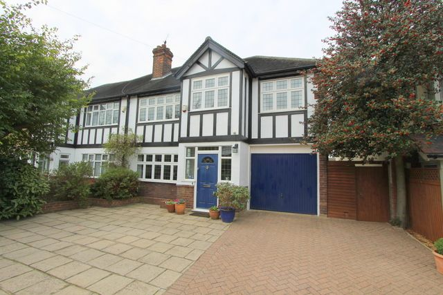 Thumbnail Semi-detached house for sale in Salisbury Road, Carshalton