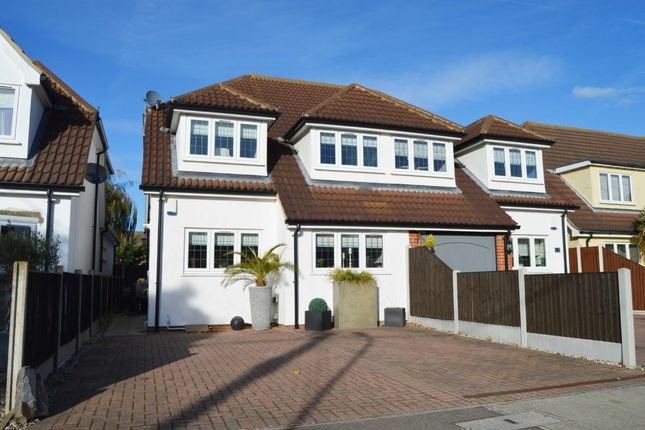 Thumbnail Semi-detached house for sale in Laburnham Gardens, Cranham, Upminster
