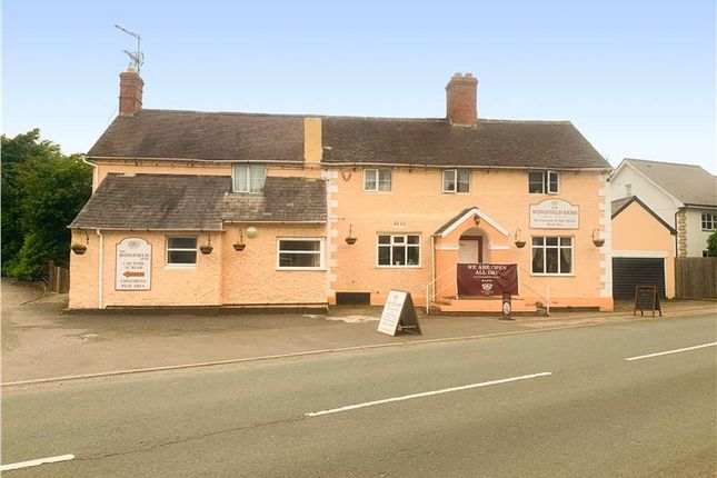Thumbnail Leisure/hospitality for sale in Attractive Village Public House, Wingfield Arms, Montford Bridge, Shrewsbury