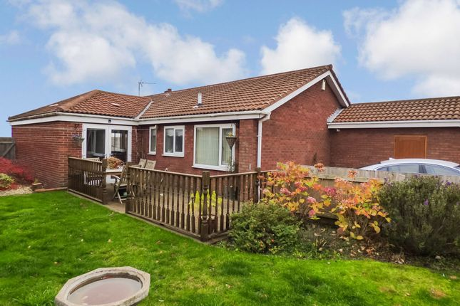 Thumbnail Bungalow for sale in Elsdon Close, Peterlee
