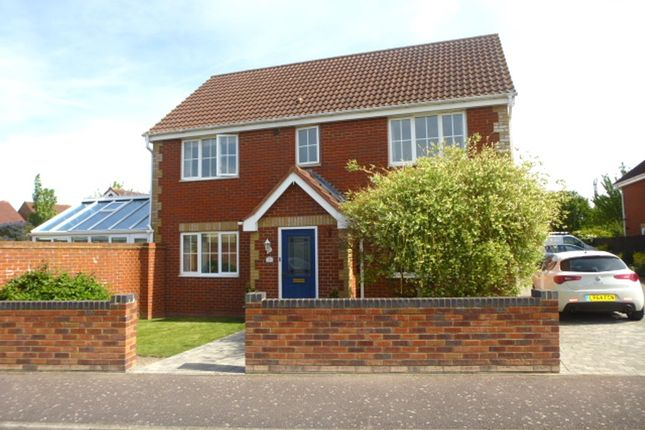 Thumbnail Detached house for sale in Redwing Rise, Royston