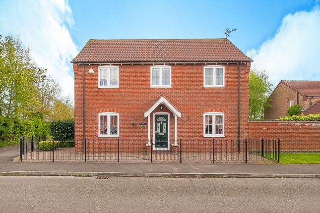 Thumbnail Detached house for sale in Lavender Drive, Spalding