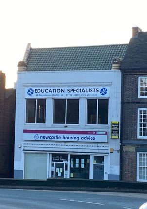 Thumbnail Office for sale in 61-63 Lower Street, Newcastle-Under-Lyme, Staffordshire