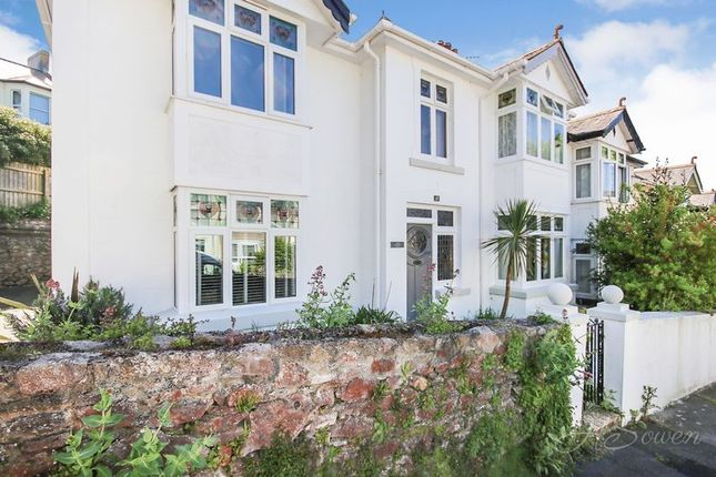 Semi-detached house for sale in Lower Shirburn Road, Torquay
