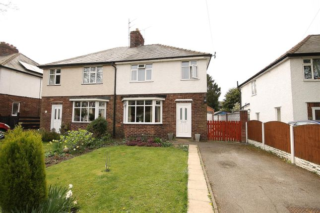 Thumbnail Semi-detached house for sale in Mansfield Road, Hasland, Chesterfield
