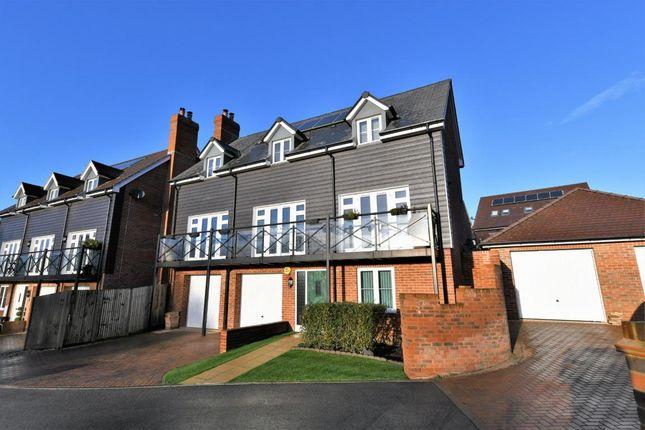 Thumbnail Detached house for sale in Church Crookham, Fleet
