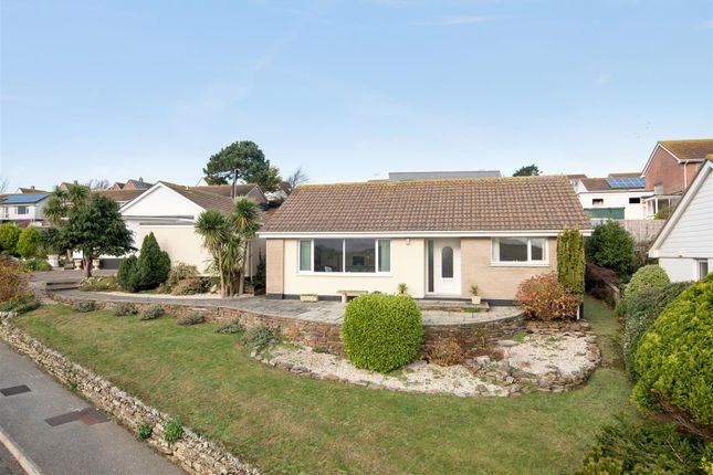 Thumbnail Detached bungalow for sale in Chyverton Close, Newquay